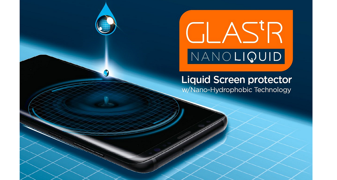 Защитное стекло Spigen Screen Protector Glass.tR Nano Liquid