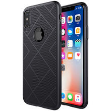 Чехол бампер Nillkin Air Case для iPhone X Black (Черный)